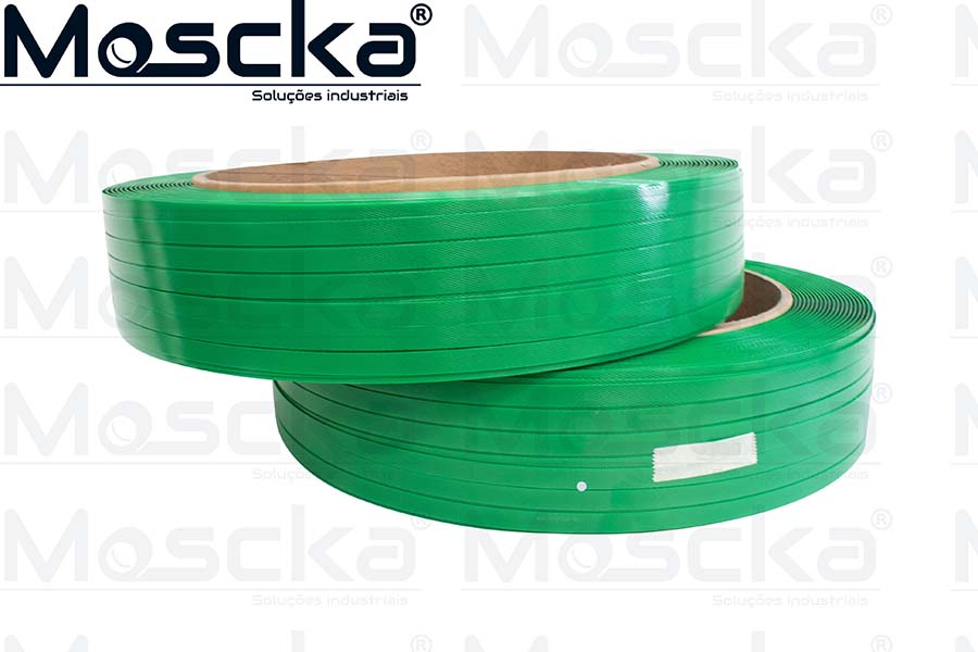 Fita PET verde 13MM
