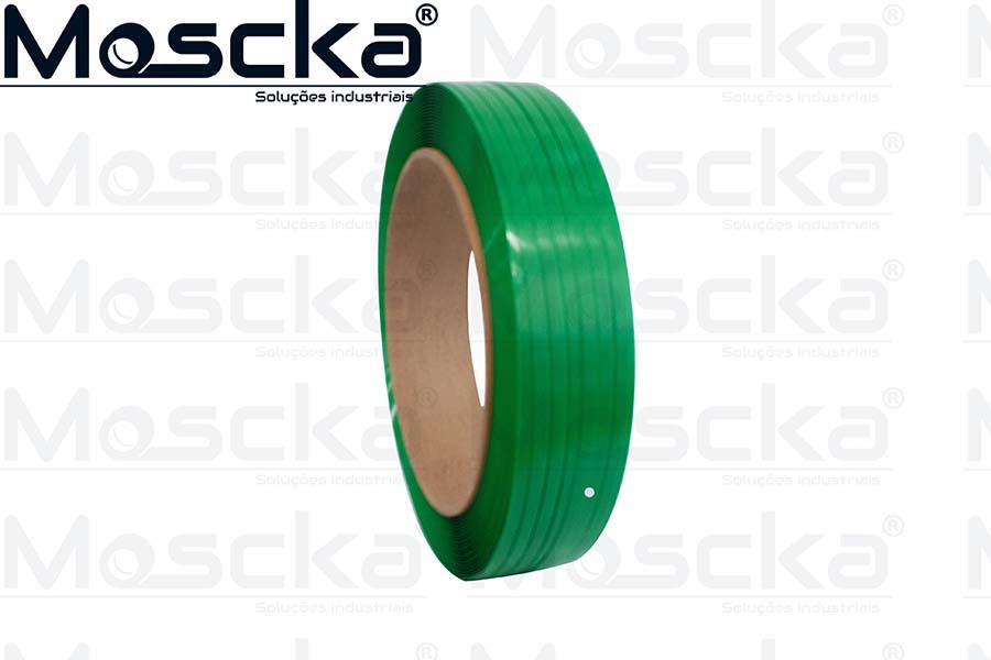 Fita PET verde 19MM
